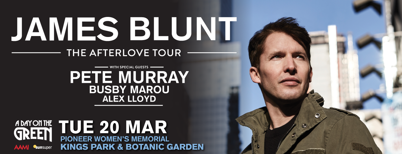 James blunt tour